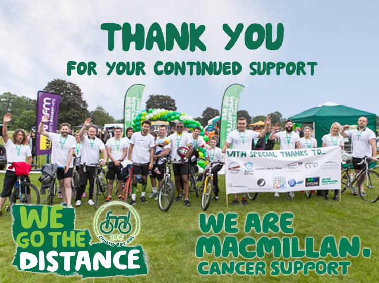 Robinson Michael & Jackson raise almost £9,000 for Macmillan Cancer Suppot